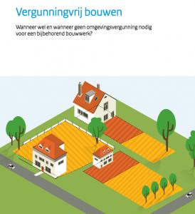 Brochure Vergunningvrij Bouwen